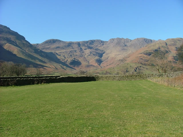 The top of the Langdale valley