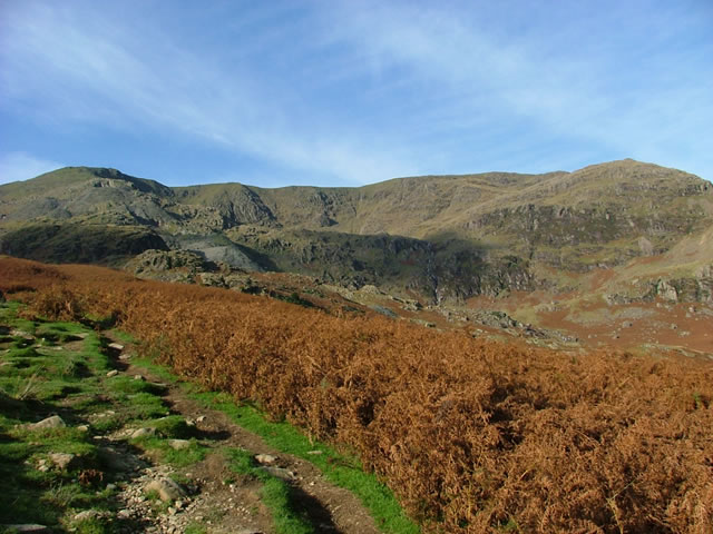 On the way up to The Old Man of Coniston