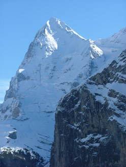 Eiger west face from Mürren Oct 2005